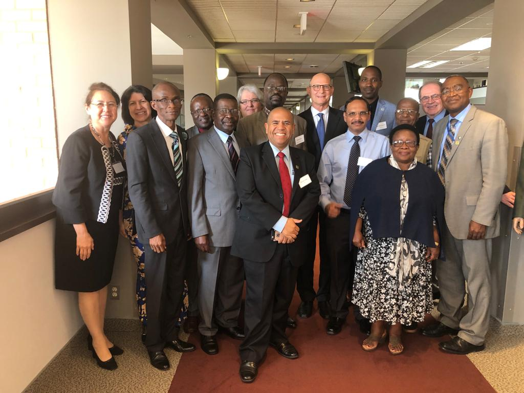 University Presidents or Vice Chancellors from African Continent at the General Conference after attending the Pan African Universities Meetings on September 24, 2019